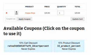 Woothemes smart coupons