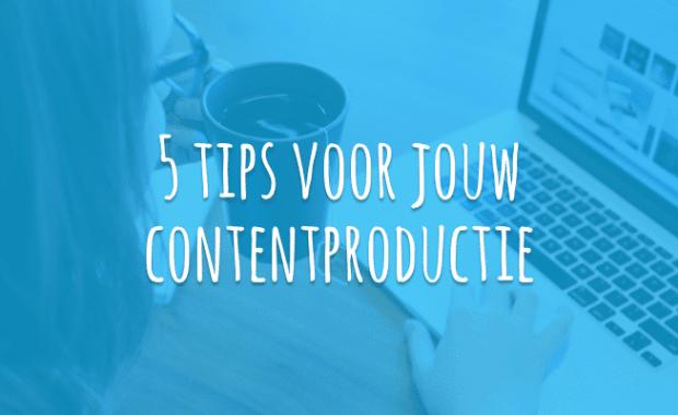 Schrijven van content voor je website