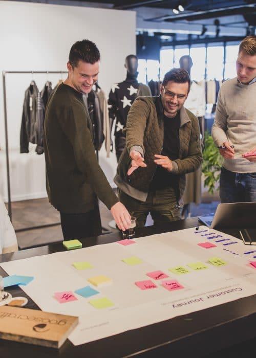 De customer journey als basis voor een corporate website