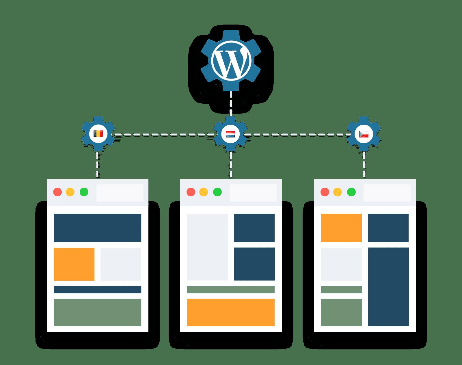 WordPress multisite optie