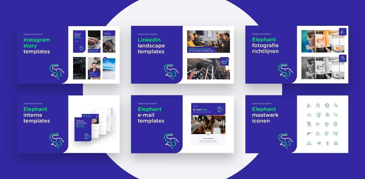 Voorbeelden van design templates