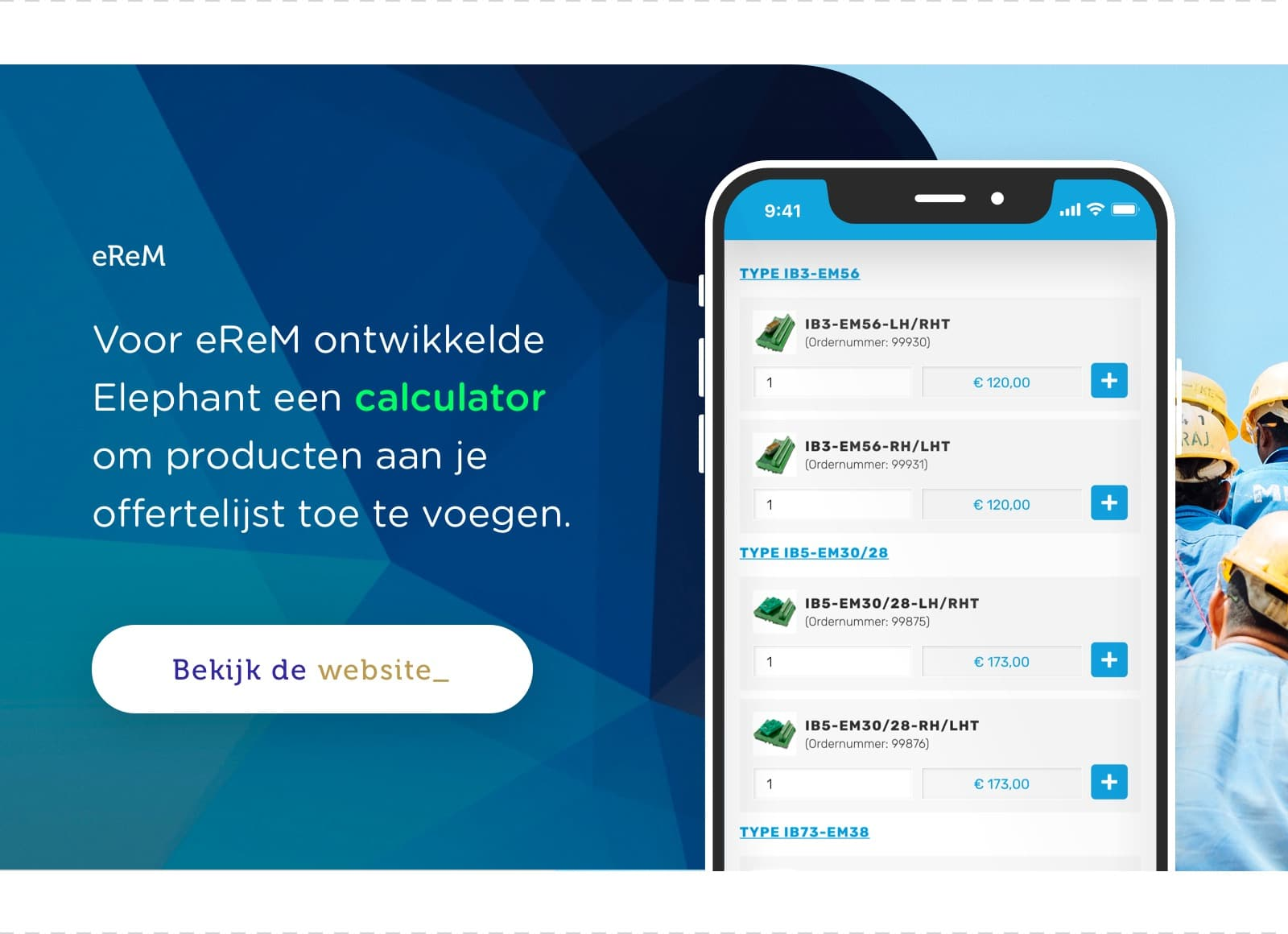 eReM productcalculator