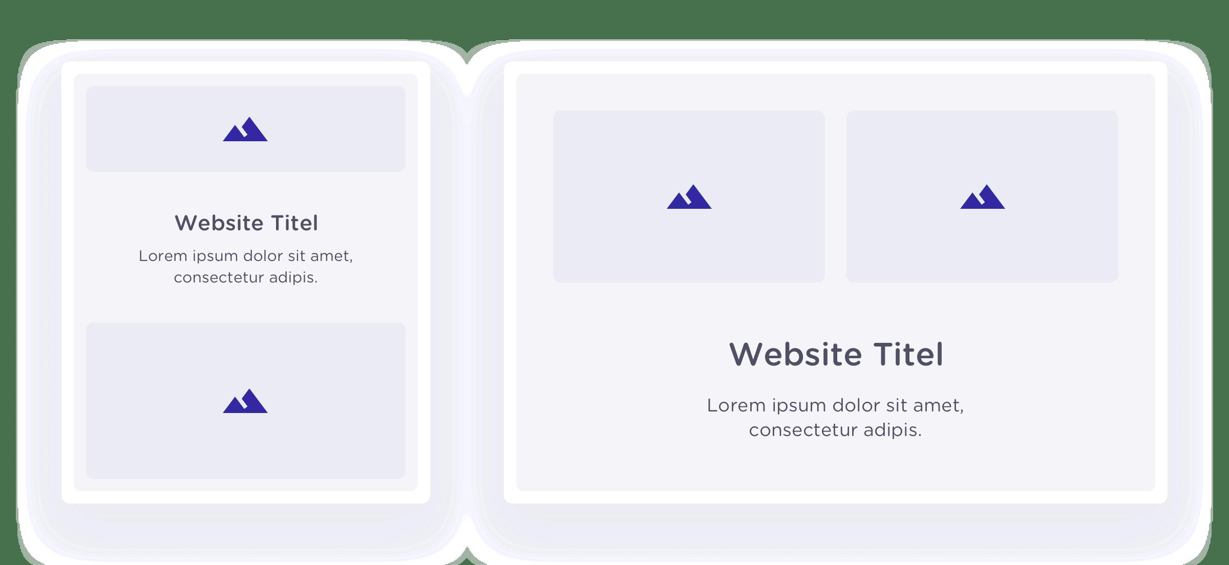 Een voorbeeld van responsive web design