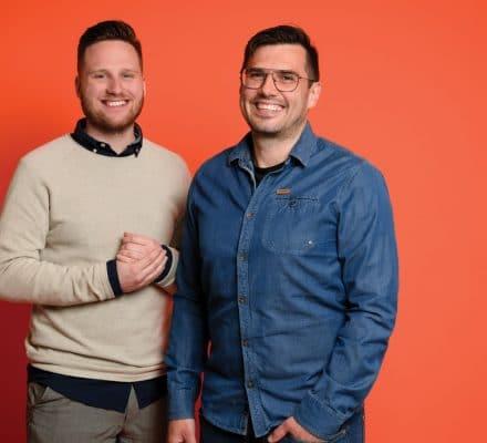 Alen & Fabian - founders van the HERD